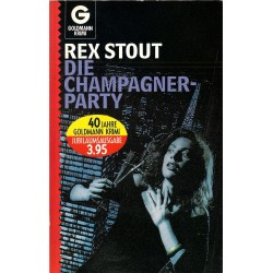 Rex Stout, Die Champagner-Party